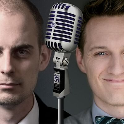 Two Magicians. One Mic. is a hilarious and helpful magical podcast offering tips and tricks for magicians