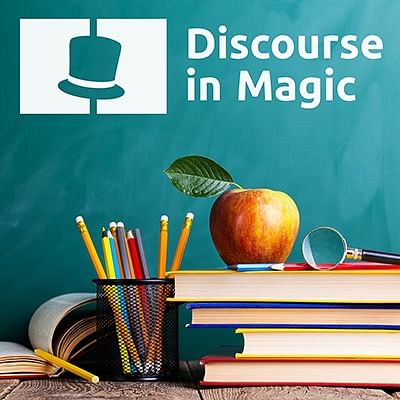 Discourse in Magic Podcast, the best podcast for professional magicians and beginner magicians.