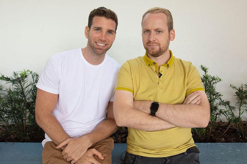 Magicians and Vanishing Inc. cofounders Joshua Jay and Andi Gladwin