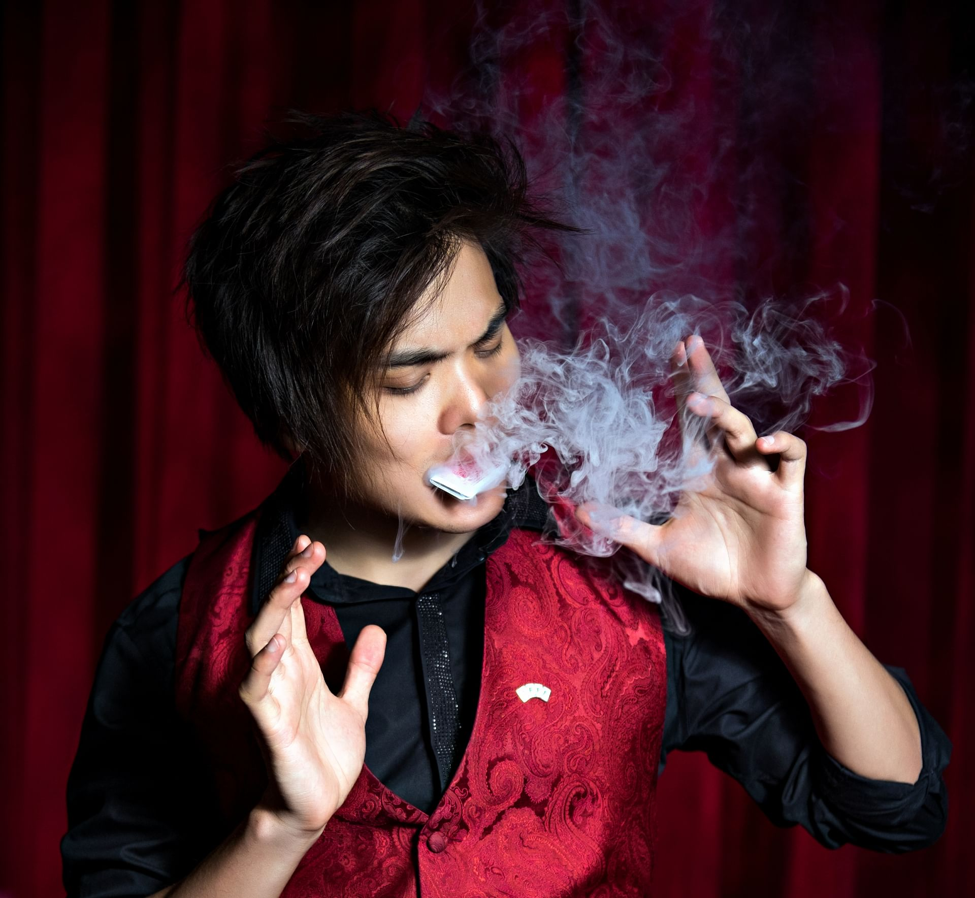 Magician Shin Lim performs his dream act on america's got talent