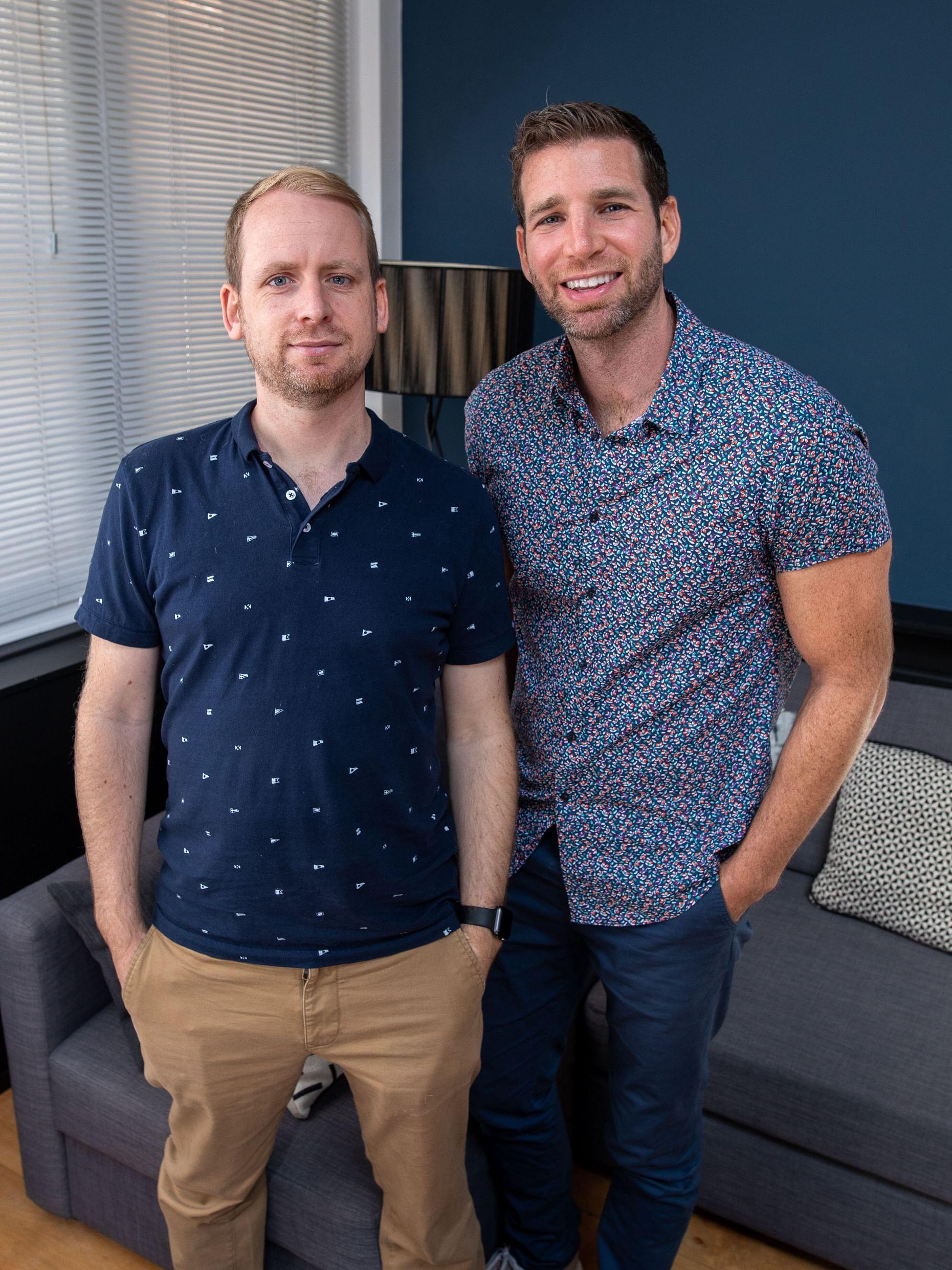 Andi Gladwin and Joshua Jay cofounders and owners of vanishing inc online magic shop