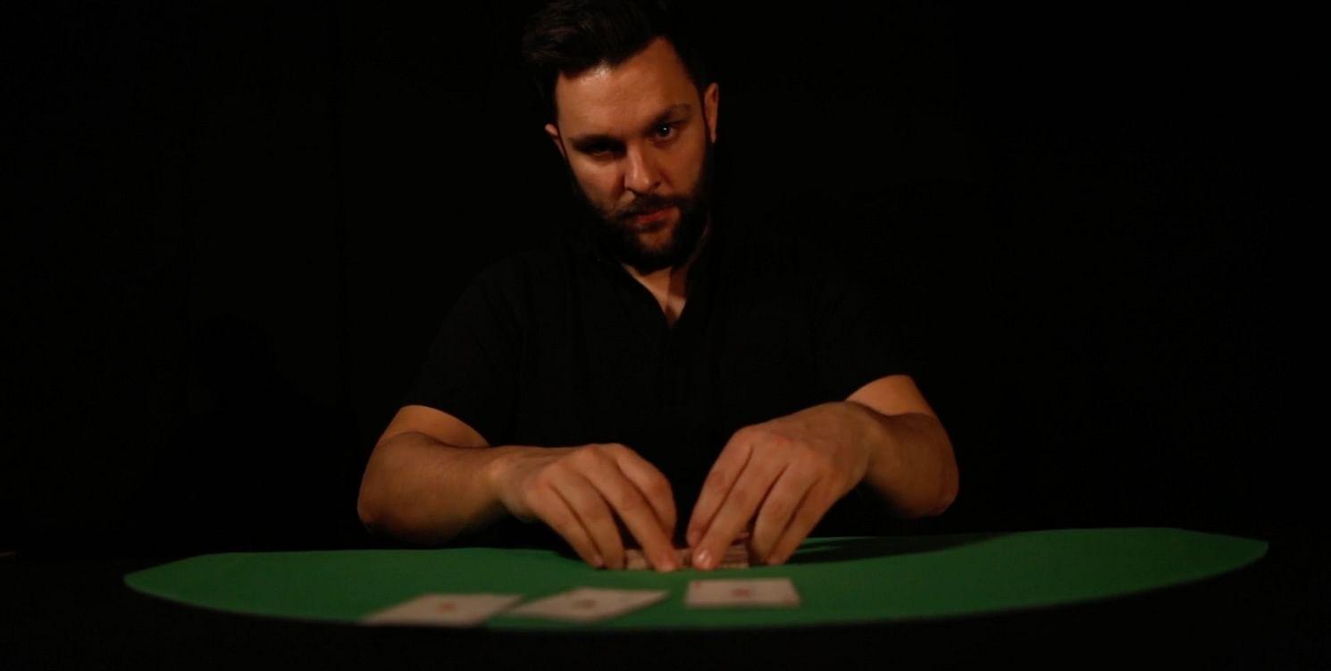 Ben Earl doing sleight of hand