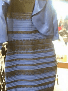 Blue or Gold Dress Illusion