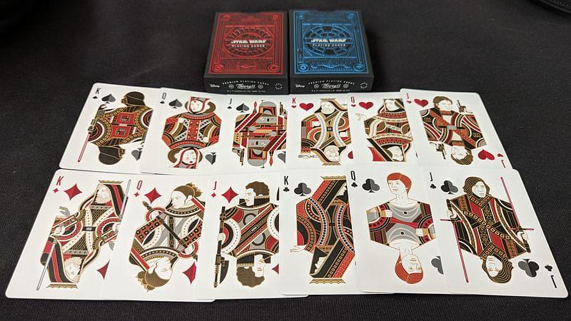 Range of Star Wars Playing Cards