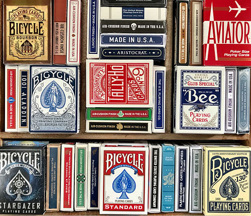 USPCC playing card brands