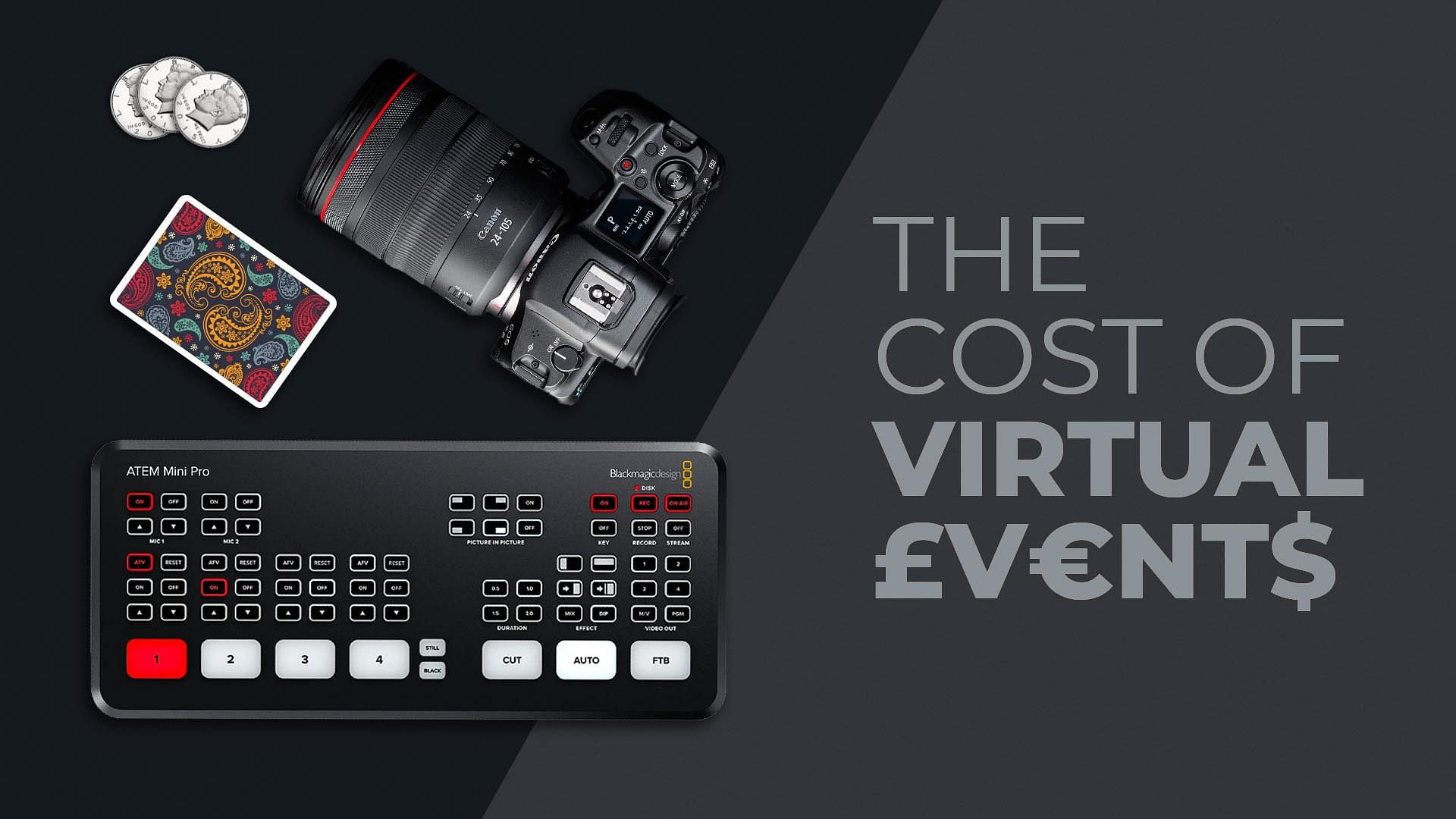 How Much does a Virtual event cost