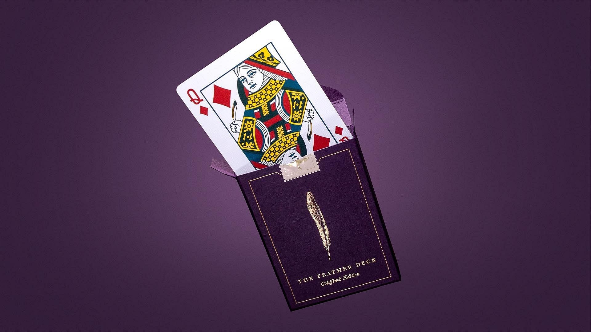 Feather Deck Pplaying Cards