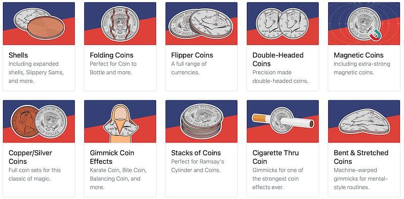 gaffed coins