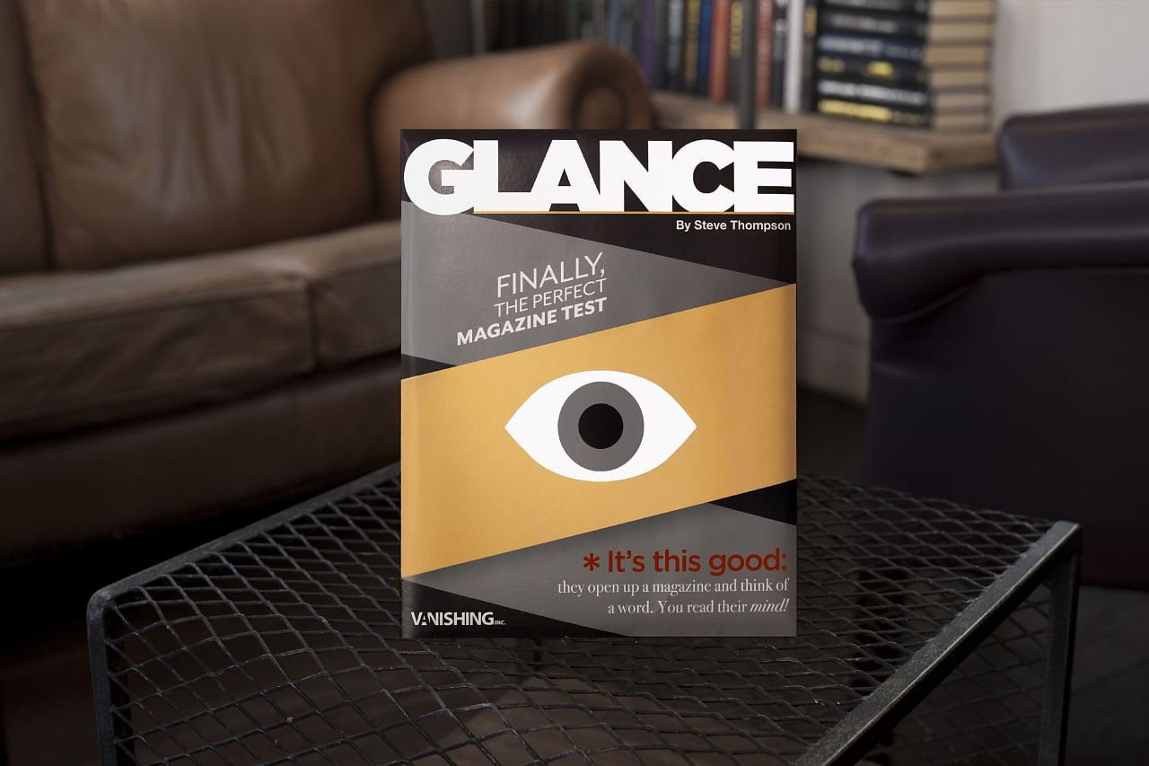 Glance book test by Steve Thompson
