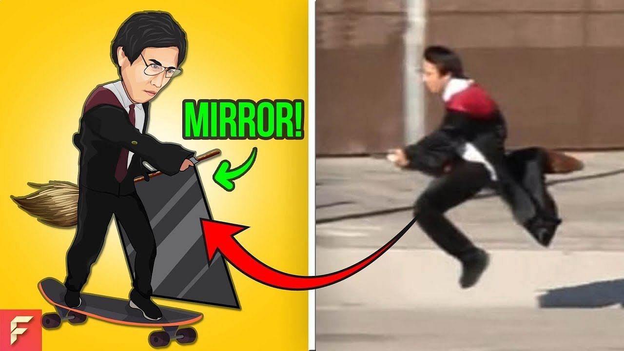 Harry Potter levitating magic trick revealed youtube cover photo