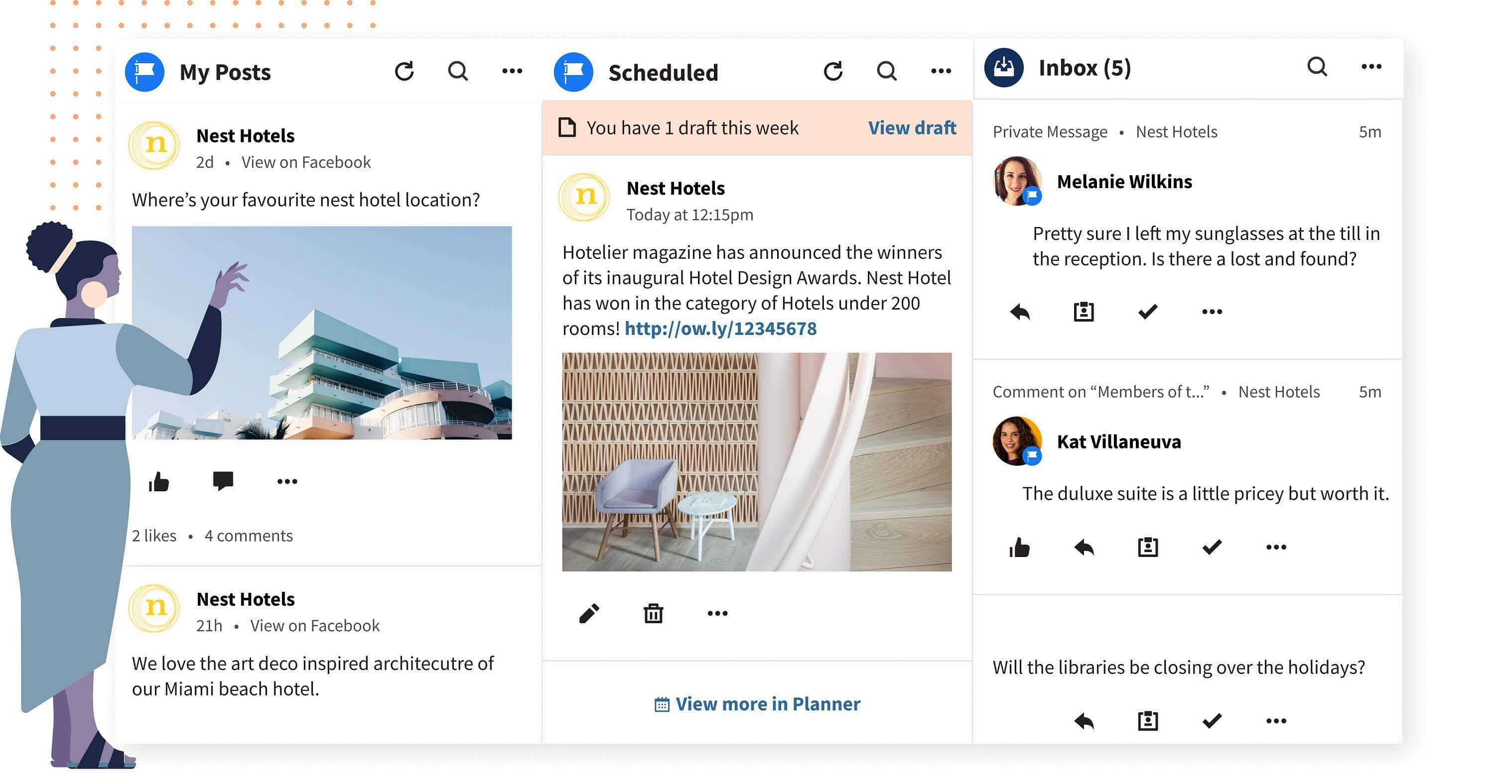 hootsuite social media platform and social media manager