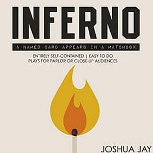 Inferno, the easy mind reading card trick by Joshua Jay