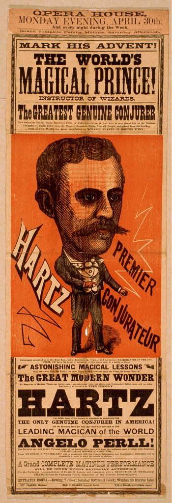 Joseph Hartz poster