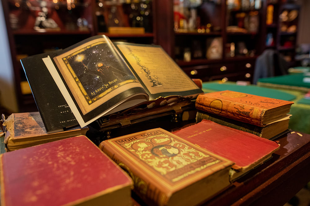 Old magic books