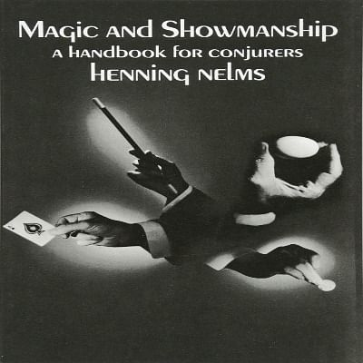 Magic and Showmanship book for magicians