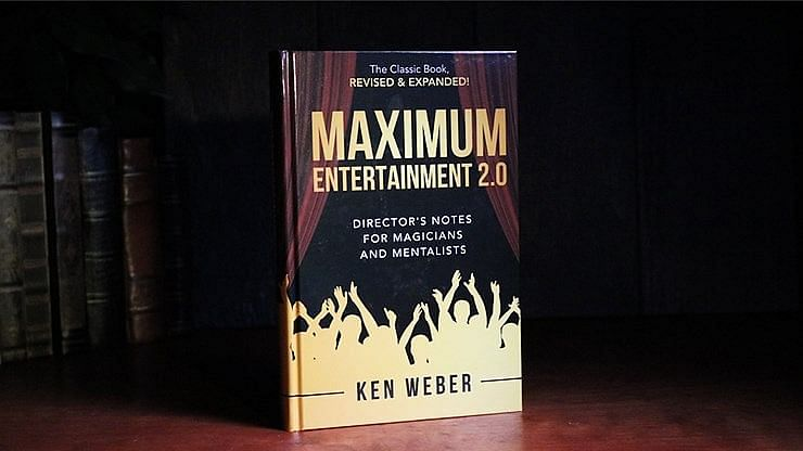 Maximum Entertainment by Ken Weber a book at Vanishing Inc. Magic