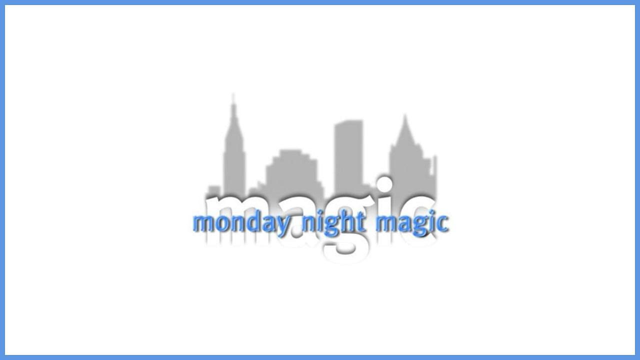new york city magic show monday night magic promo photo