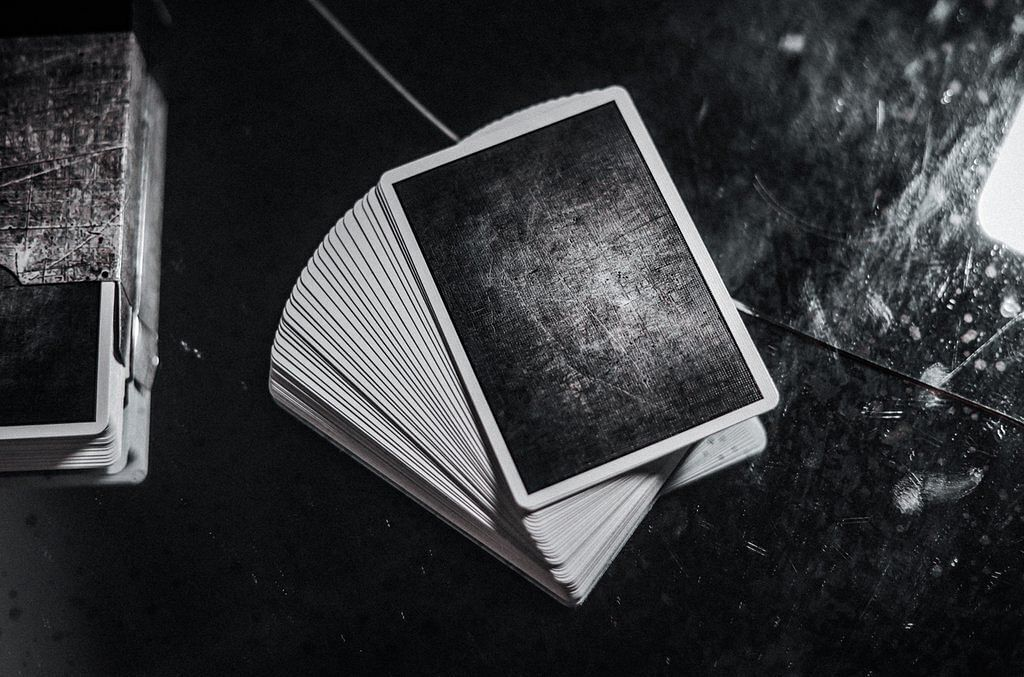 MyNOC Metal Playing Cards Backs