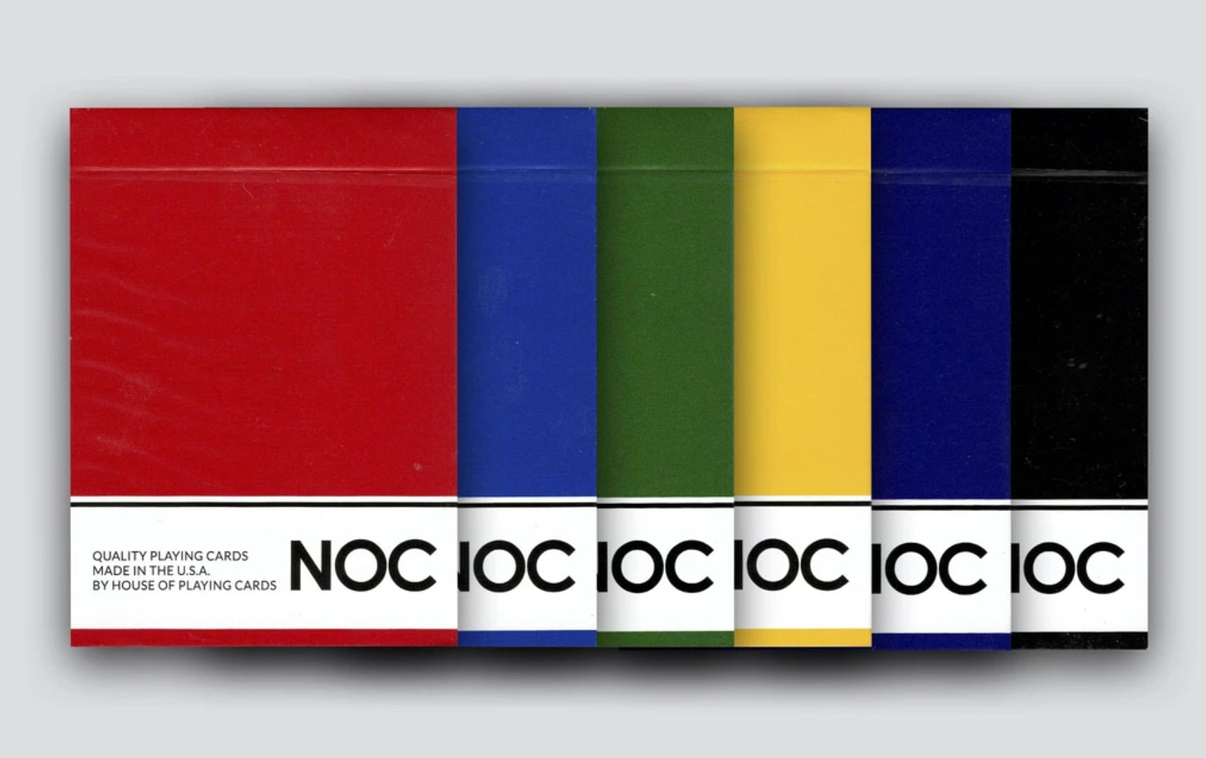 Original NOC V1 Playing Cards in different colors