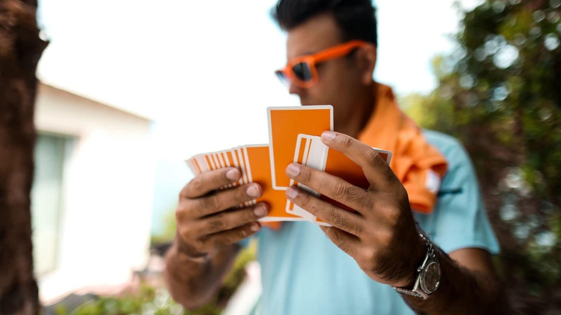 Summer NOC Orange Playing Cards