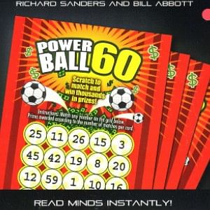 Powerball 60 mind reading trick from Richard Sanders and Bill Abbott