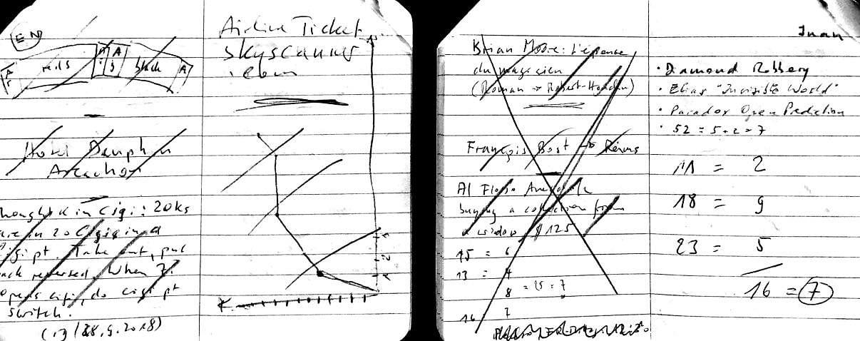 Roberto Giobbi notebook