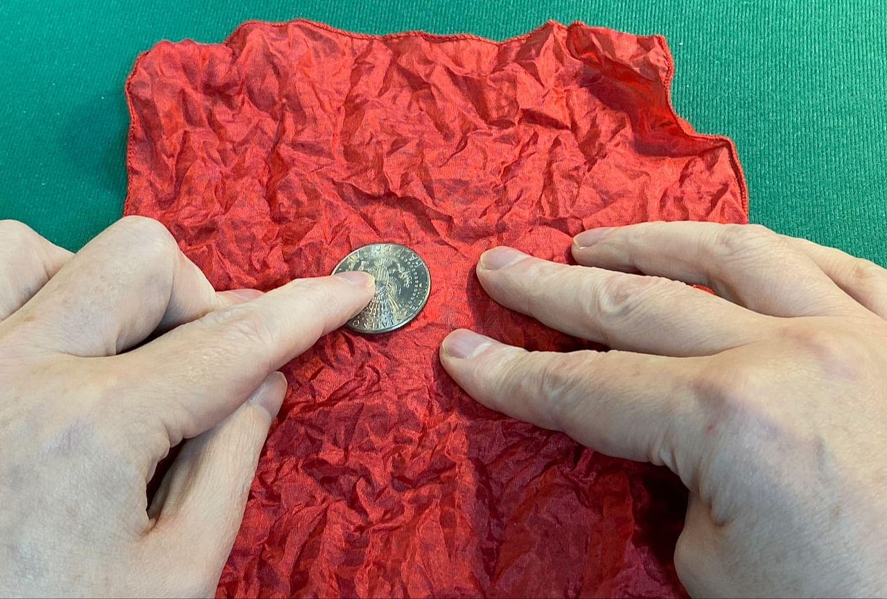 Repairing shell coin