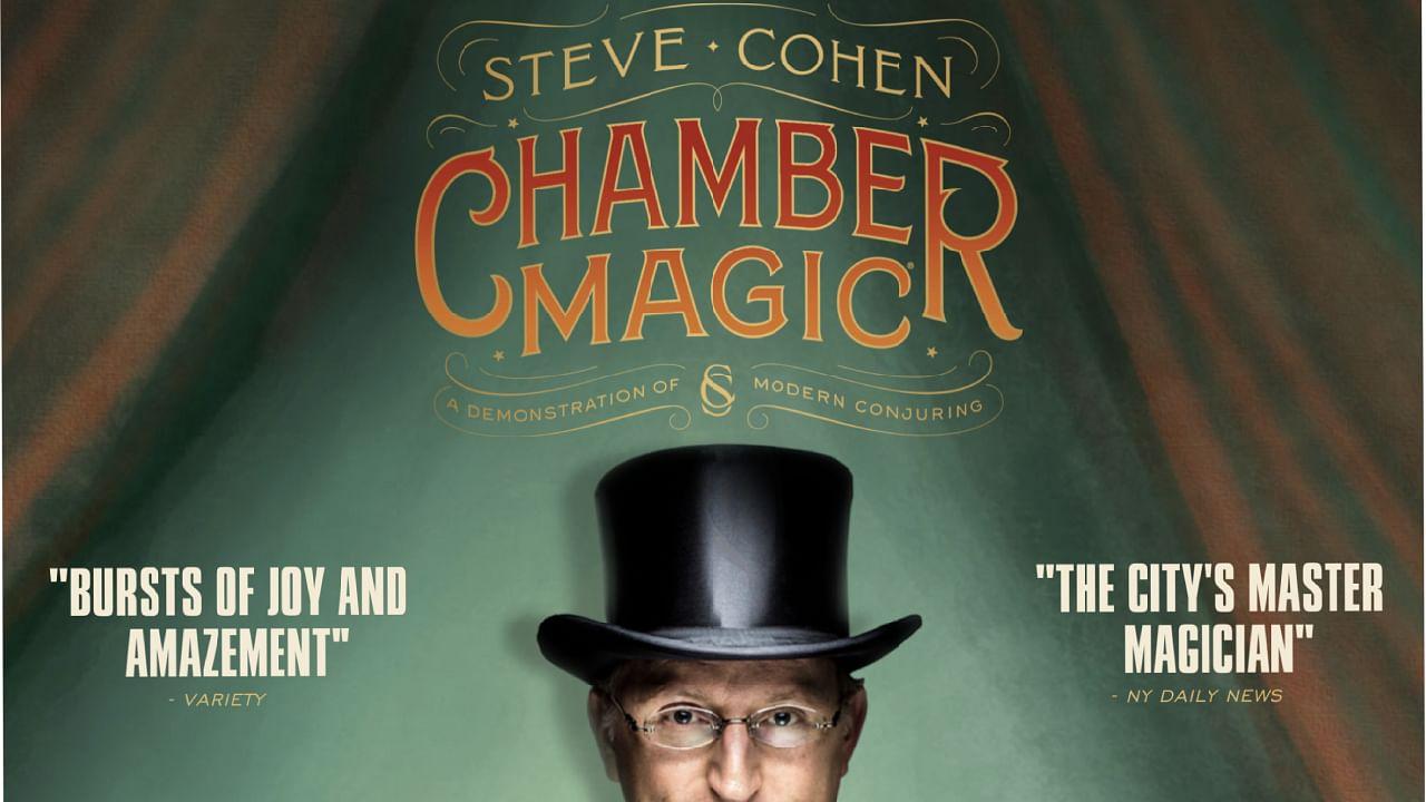 NYC Chamber Magic parlor magic show poster