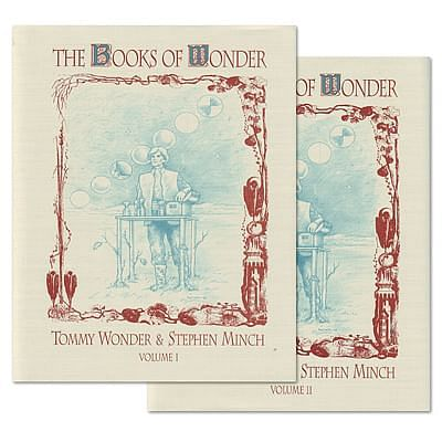Books of Wonder by Tommy Wonder at Vanishing Inc. Magic