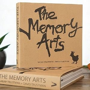 Brown paper bag colored book Memory Arts that helps you build a better memory