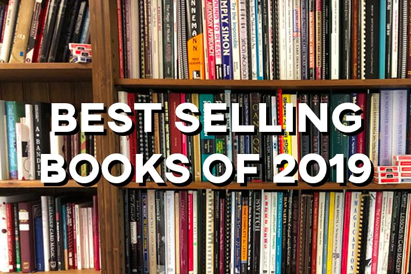 2019 Top Selling Magic Books