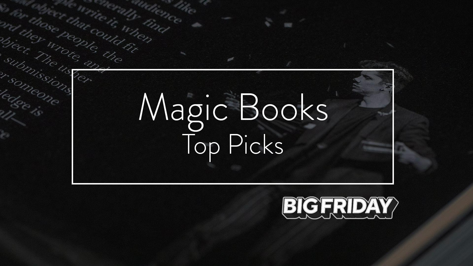 Black Friday Magic books