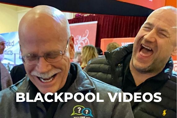 Our Blackpool Magic Convention videos