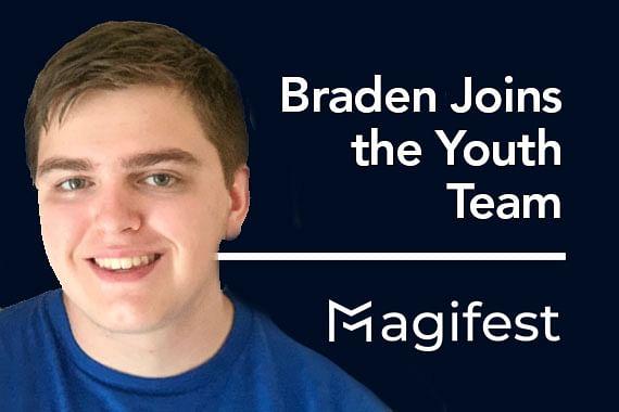 Braden Joins the Youth Program Team
