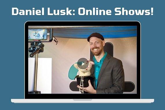 Daniel Lusk Offers Virtual Magic Shows