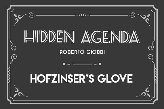 Hidden Agenda | Hofzinser's Glove