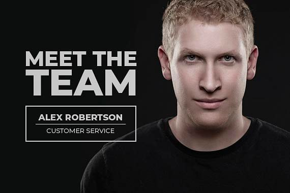 Meet The Team - Alex