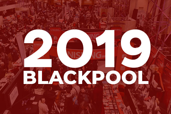 Meet us at Blackpool 2019