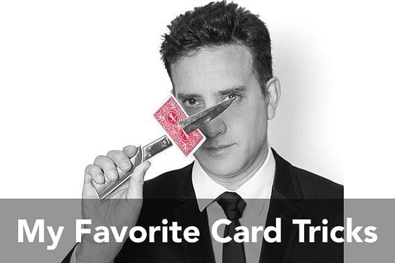 My Favorite Card Tricks: Jon Allen