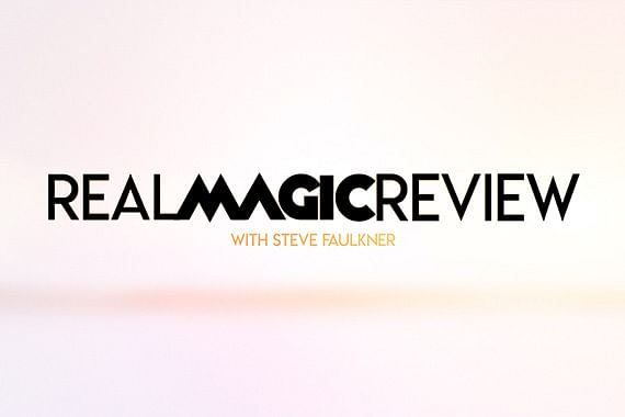 Real Magic Review | Card on Ceiling