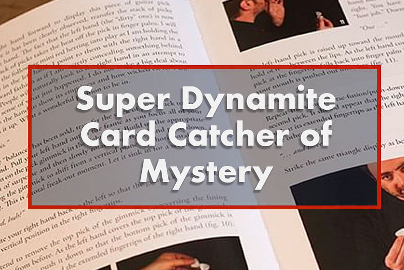 Super Dynamite Card Catcher of Mystery