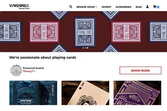 Vanishing Inc. Playing Cards Launch