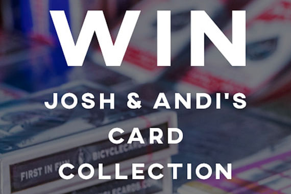 Win 50 Rare and Collectable Decks of Cards