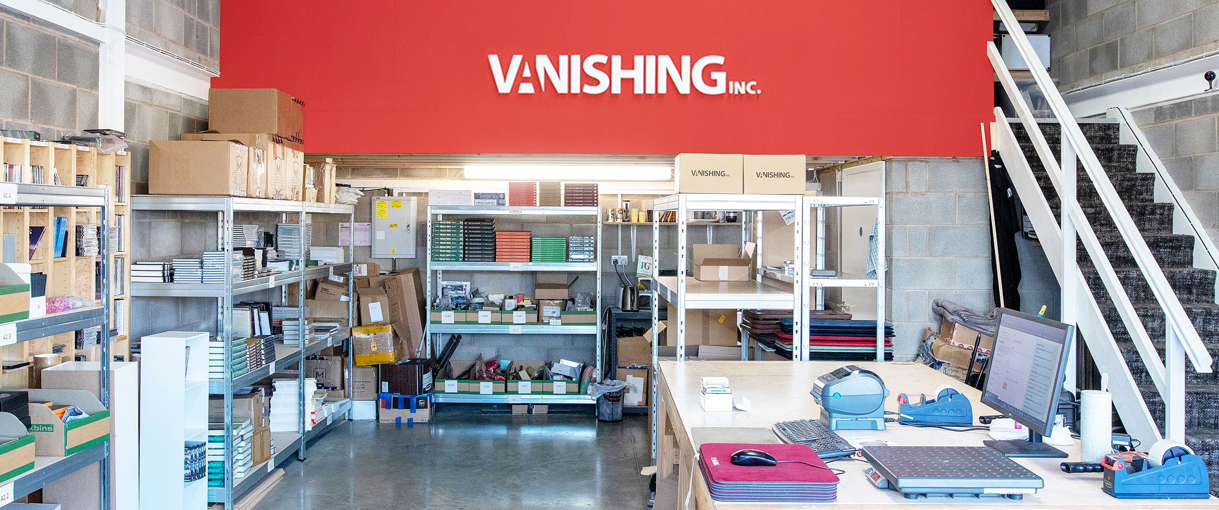 Vanishing Inc. Warehouse