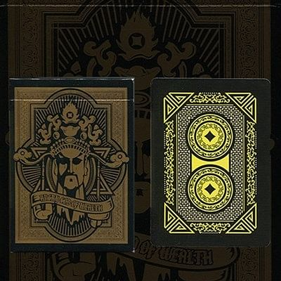 Angry God of Wealth Playing Cards