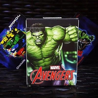 Avengers Hulk Playing Cards