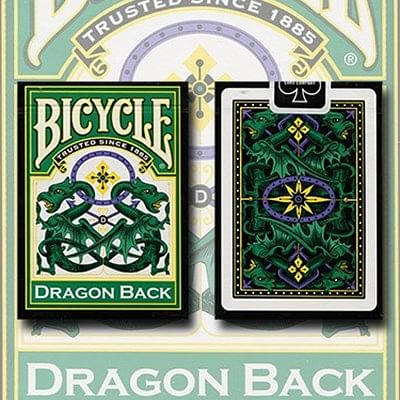 Bicycle Dragon Back Playing Cards (Green…