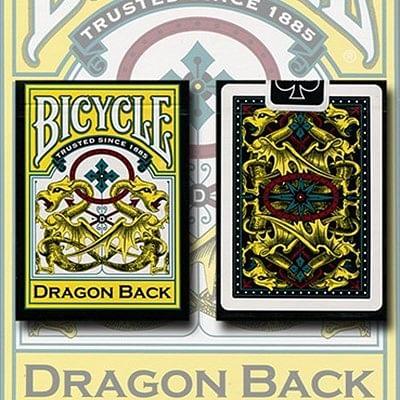 Bicycle Dragon Back Playing Cards (Yello…