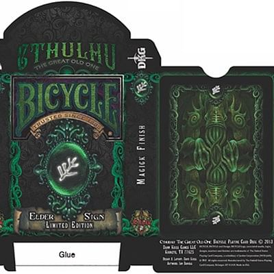 Bicycle Elder Sign Limited Edition Playi…