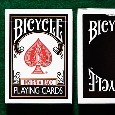 Bicycle Insignia Back  Playing Cards (Bl…